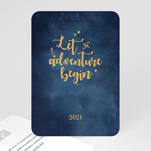 Cartes de Voeux Professionnels - Aventure en or 55548
