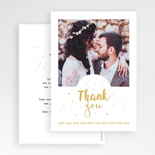 Remerciement mariage photo - Tendre Merci 55727 preview