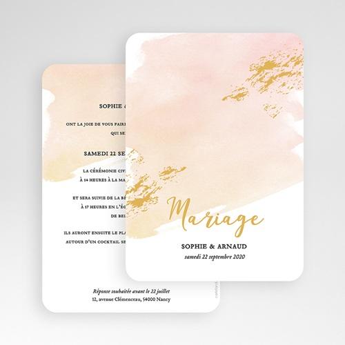 Faire Part Mariage chic - Doux bonheur 55736 thumb