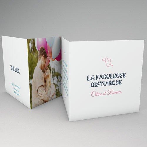 Faire-Part Mariage - BD amour 56173 thumb