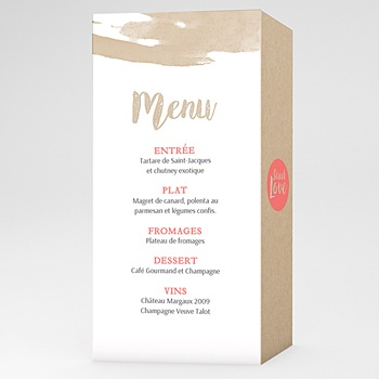Achat menu mariage love acidulé