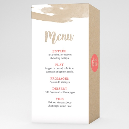 Menu de Mariage - Love Acidulé 56343 thumb