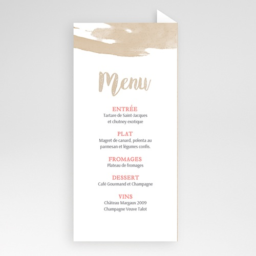 Menu de Mariage - Love Acidulé 56344 thumb
