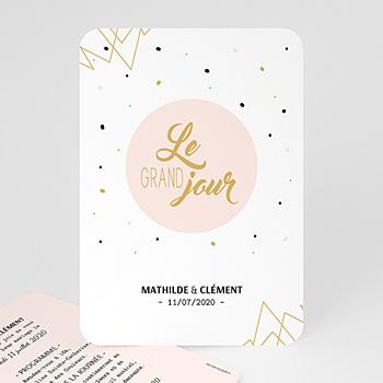 Faire-Part Mariage - Le grand Jour - 0