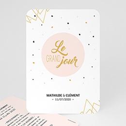 Faire-Part Mariage - Le grand Jour 56370