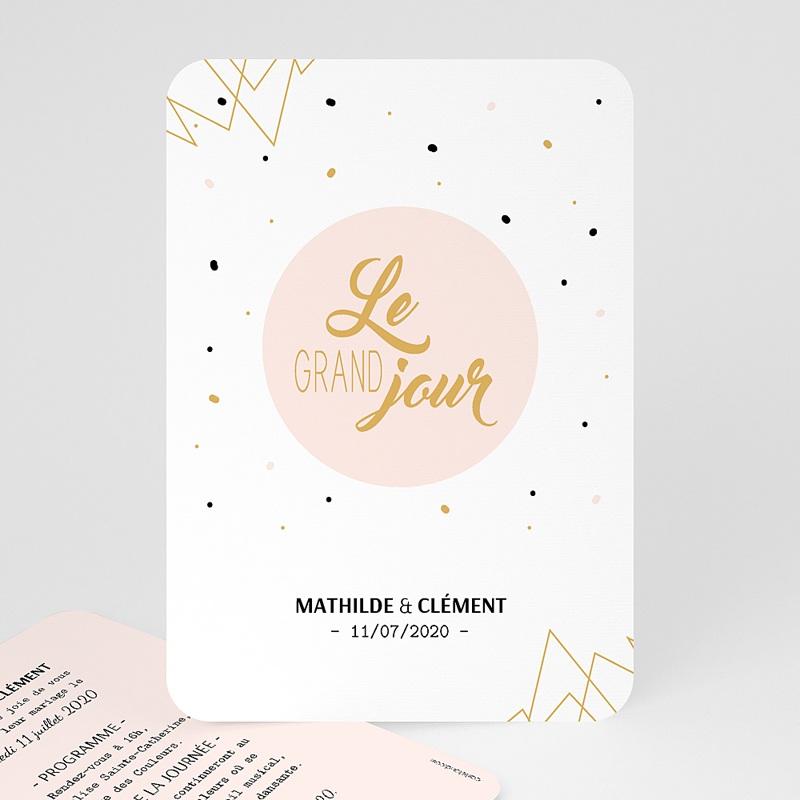 Faire-Part Mariage Le grand Jour