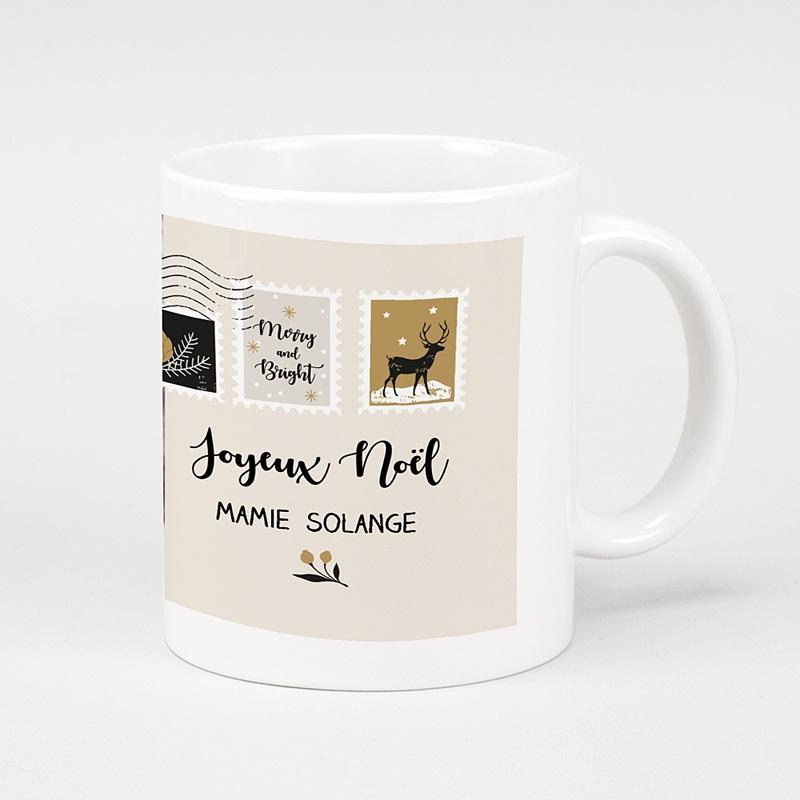 Mug Personnalisé Noël Lettre Noël