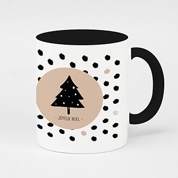 Mug noël - Noël en pois - 0