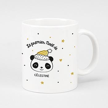 Mug noël - Panda de Noël - 0