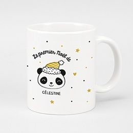 Mug Cadeaux Panda de Noël