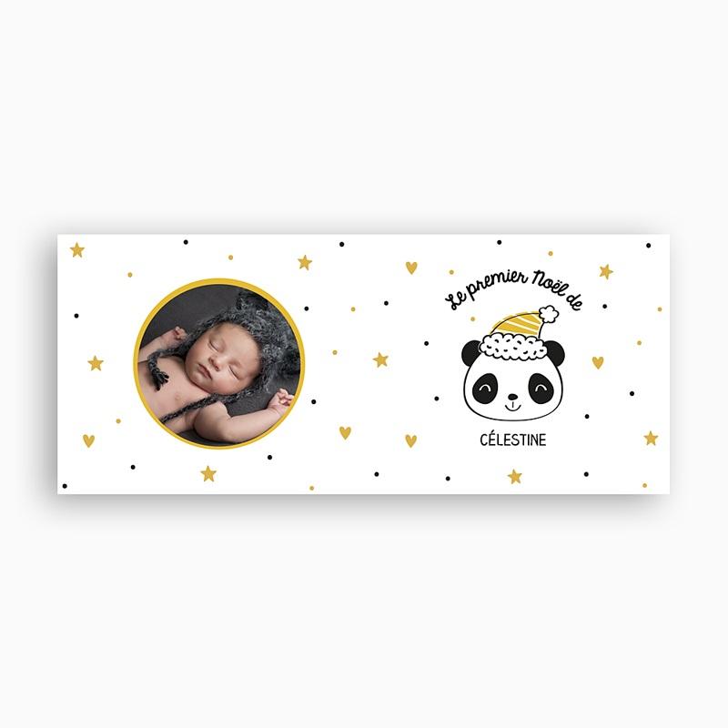 Mug Personnalisé Noël Panda de Noël pas cher