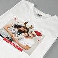Tee-Shirt Personnalisé Photo Christmas T pas cher