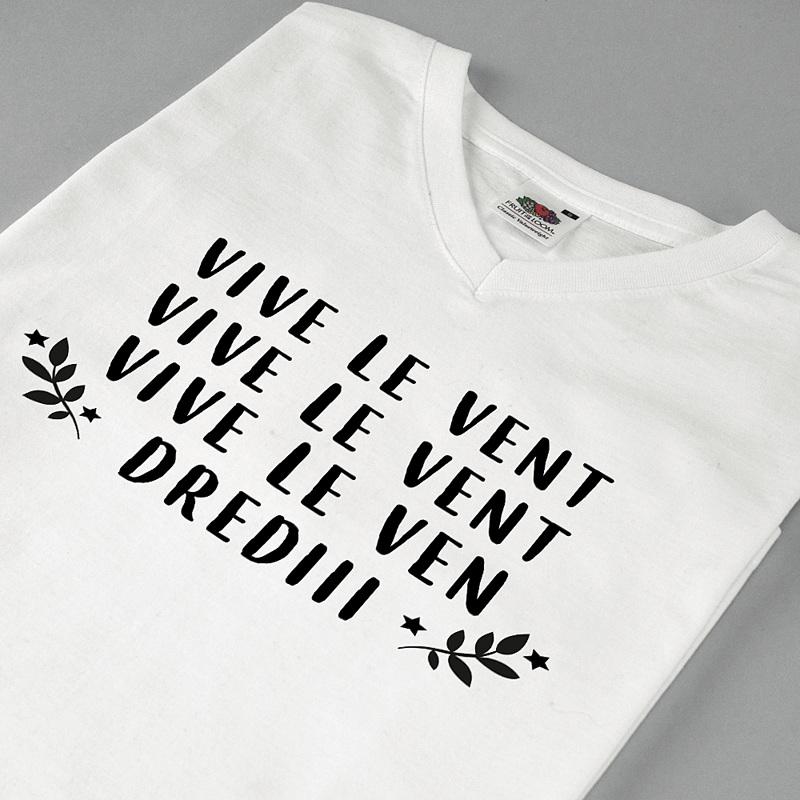 Tee-Shirt Personnalisé Photo Vive Vendredi pas cher