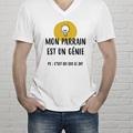 Tee-Shirt Personnalisé Photo Parrain génial gratuit