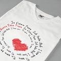 Tee-Shirt avec photo - Déclaration d'Amour 56663 thumb