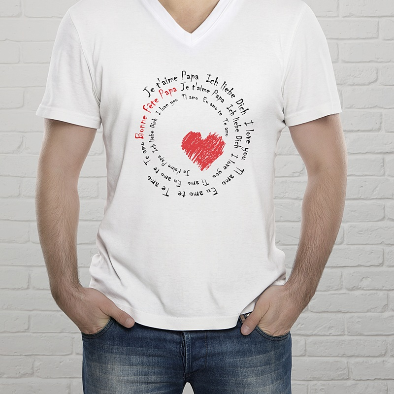 Tee-Shirt avec photo - Déclaration d'Amour 56664 thumb