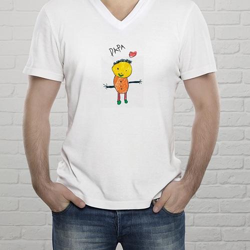 Tee-shirt homme Dessin d'enfant gratuit