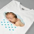Tee-Shirt Personnalisé Photo La tête dans les nuages pas cher
