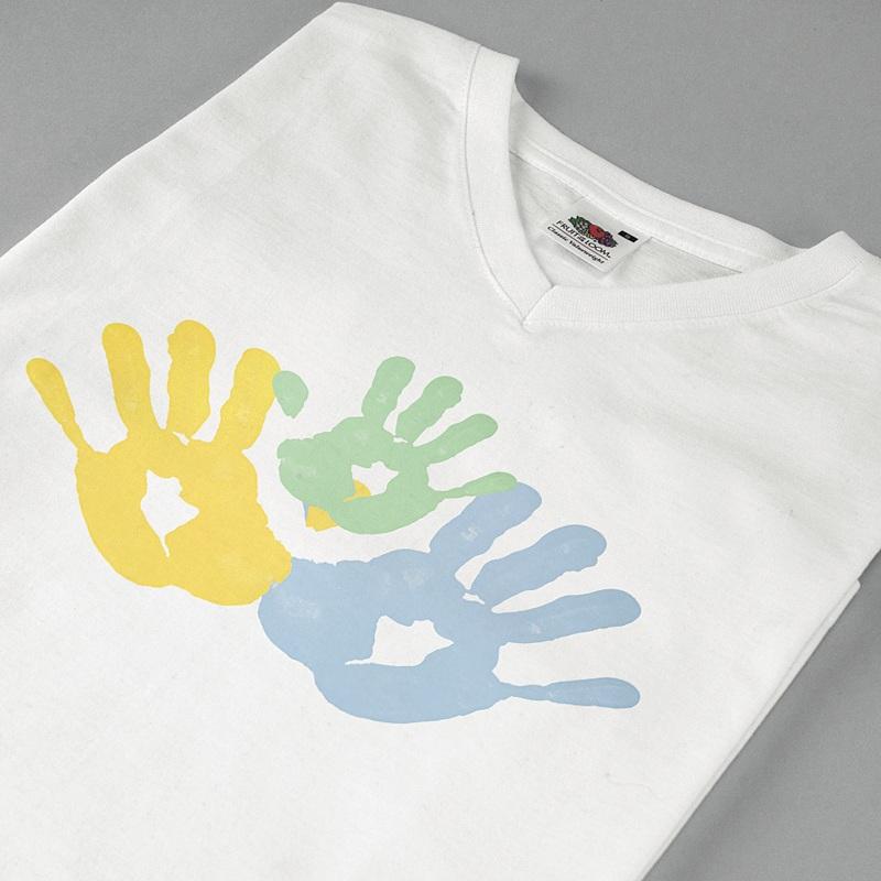 Tee-shirt homme Petites mains pas cher