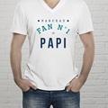 Tee-shirt personnalisé photo Fan de Papi gratuit