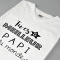 Tee-Shirt Personnalisé Photo Best Papi pas cher