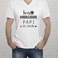Tee-Shirt Personnalisé Photo Best Papi gratuit