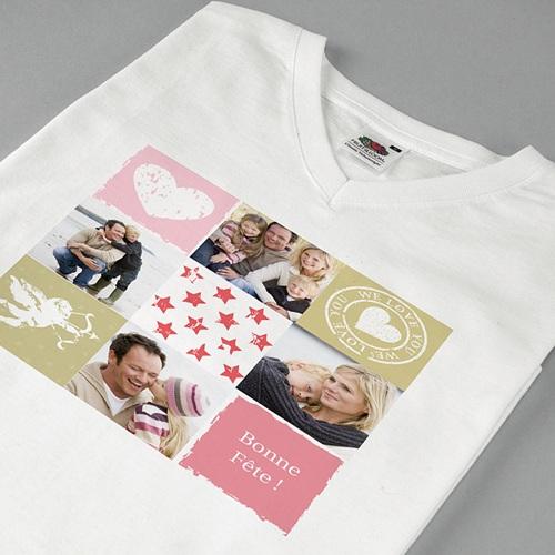 Tee-Shirt avec photo - Je t'aime à la pelle 56693 thumb