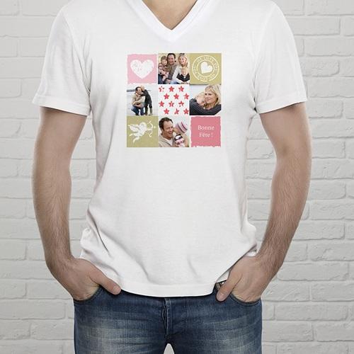 Tee-Shirt avec photo - Je t'aime à la pelle 56694 thumb