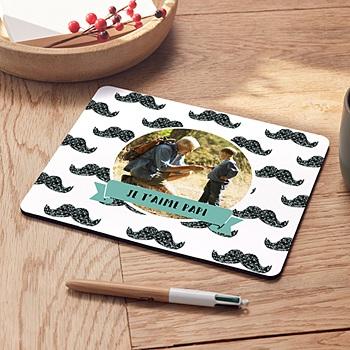 Tapis de souris personnalisé - Papy connecté - 0