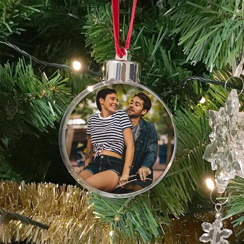 Boule Sapin Noël Personnalisée Boule d'amour