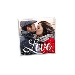 Cadre photo paillettes Cadeaux Cadre Love
