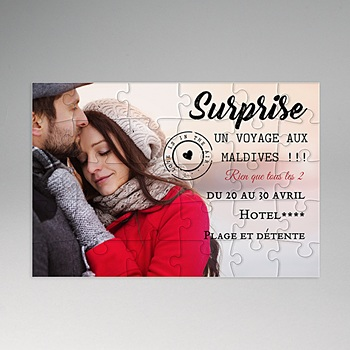 Puzzle bois - Surprise - 0