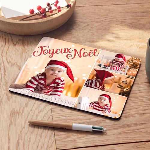 Tapis de souris personnalisé Tapis Noël