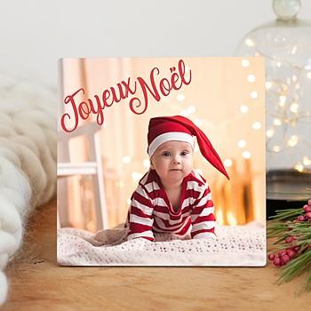 Cadre photo en bois - Noel encadré - 0