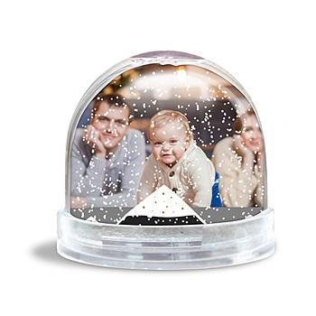 Boule à neige avec photo - Photo Shake - 0