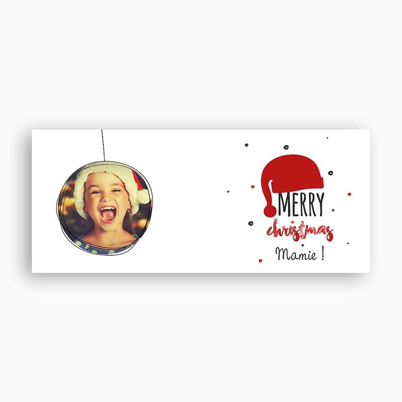 Mug Personnalisé Photo Bonnet du Père Noel pas cher