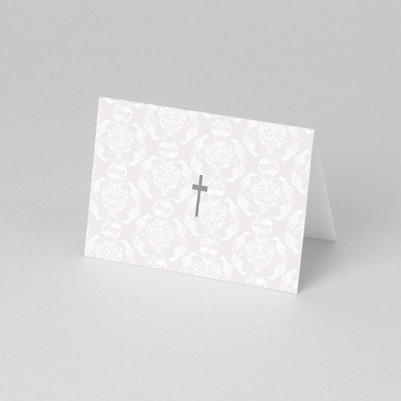 Marque-place communion Invité - Profession de foi pas cher