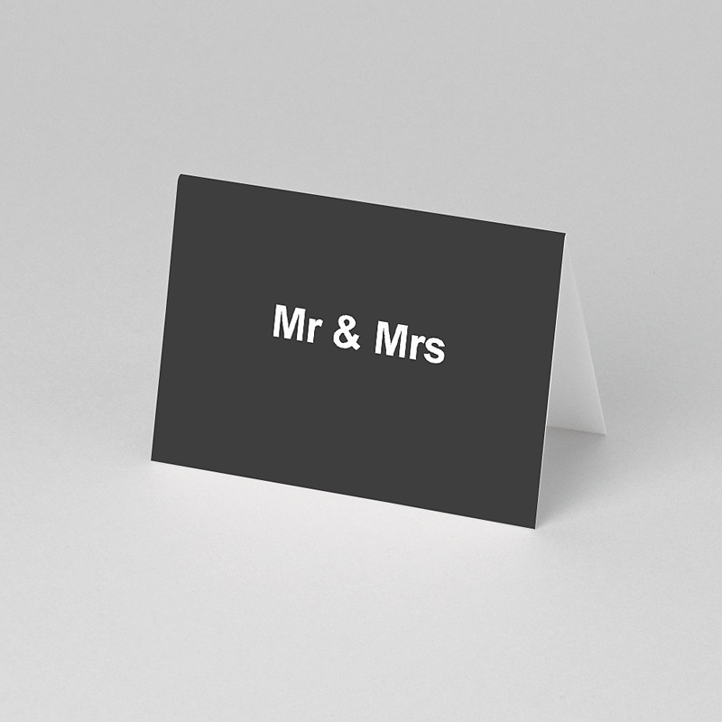 Marque Place Mariage Personnalisés Mr & Mrs pas cher