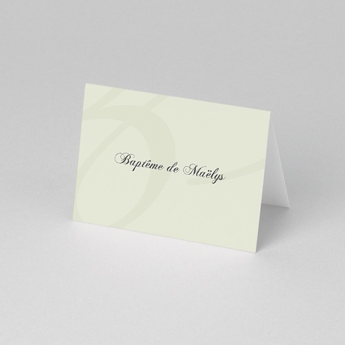 Marque Place Baptême - Invités de Maelys 56872 thumb