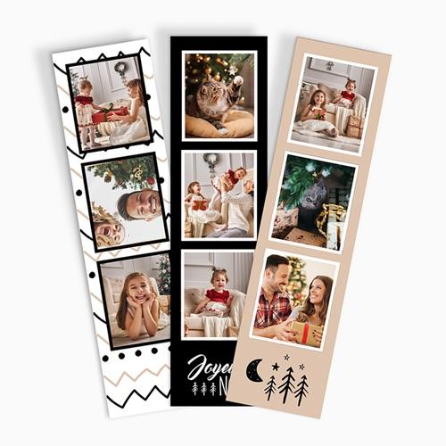 Tirage Photo Cabine Chevrons Noël (papier)