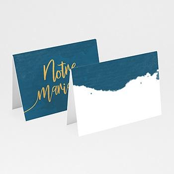Marque Place Mariage - L'or bleu - 0