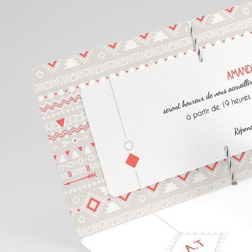 Faire-Part Mariage Boho Style gratuit