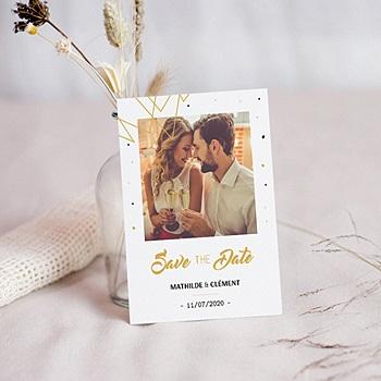 Save the date mariage Le grand Jour personnalisé