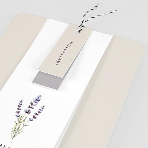 Faire-Part mariage champêtre - Bouquet de Lavande 57709 thumb