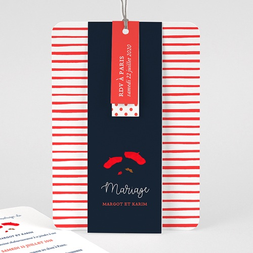 Faire Part Mariage Original - So french 57863 thumb
