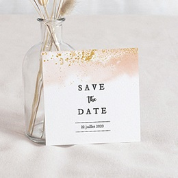 Save the date mariage Aquarello