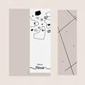 Carte Remerciement Mariage Créatif Formes Abstraites pas cher