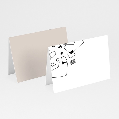 Marque Place Mariage Formes Abstraites