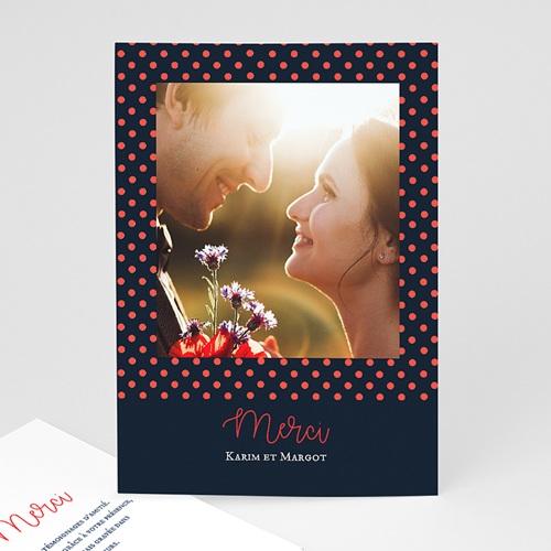 Carte Remerciement Mariage Original So french