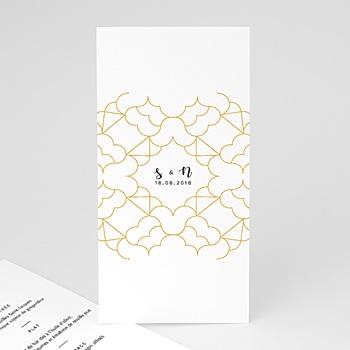 Menu mariage Alhambra personnalisable